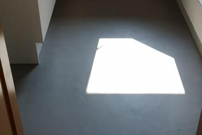 Küchenboden fugenloser Boden nachher