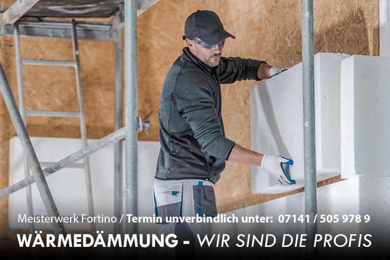Wärmedämmung Ludwigsburg - Meisterbetrieb Telefon: 07141 / 505 978 9